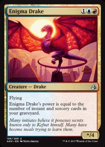 4x Enigma Drake NM-Mint English Amonkhet MTG Magic