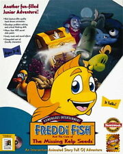 Freddi Fish and The Case of the Missing Kelp Seeds  New in Box  Humongous Ent.