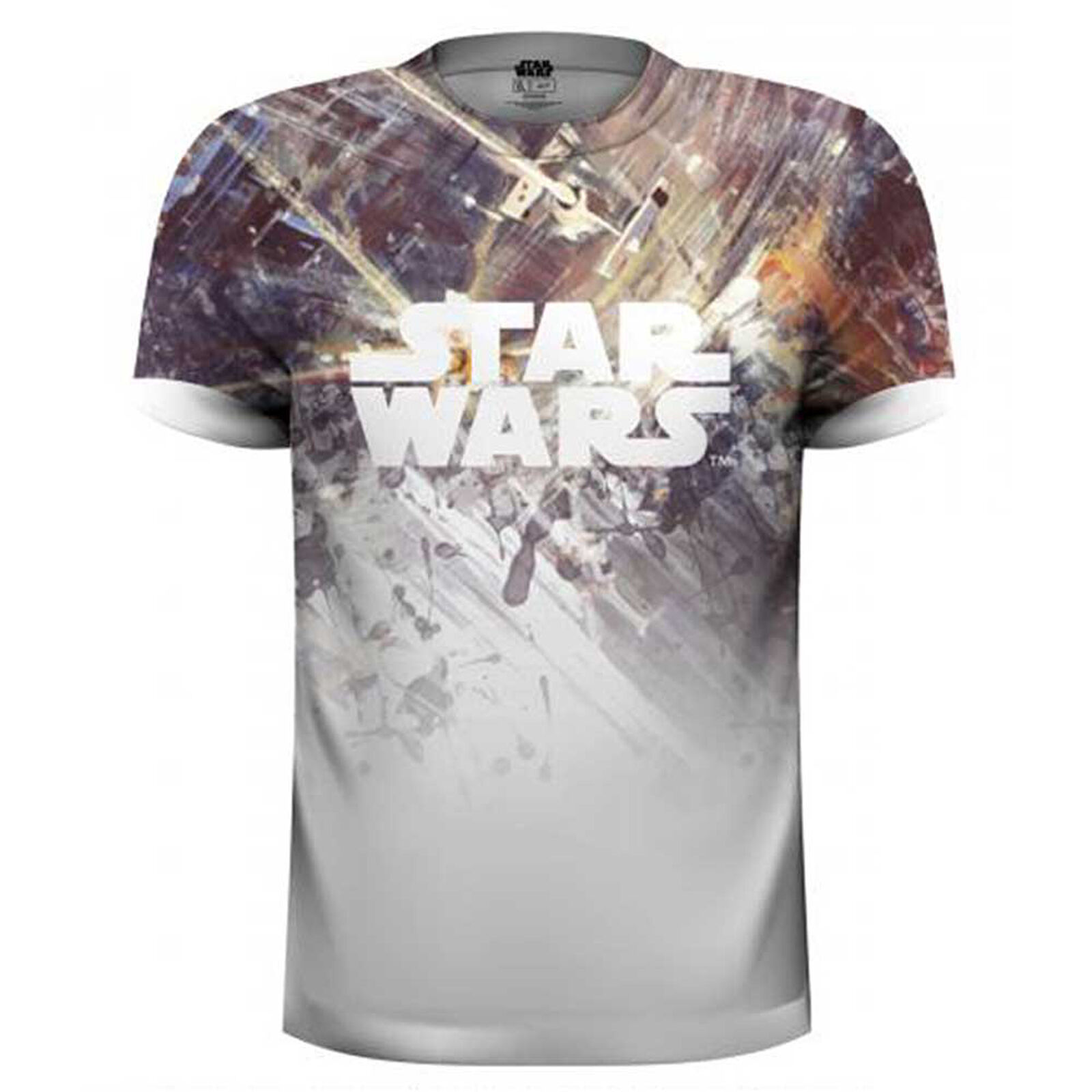 Dogfight Star Wars Tie Fighter X-Wing Official Tee T-Shirt Mens Unisex