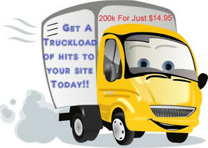 200000 Website Visitors Hits - Several Weeks Of Traffic On Sale!