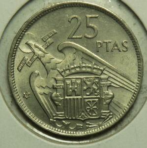 UNICIRCULATED COIN 25 PESETAS 1982 SPAIN