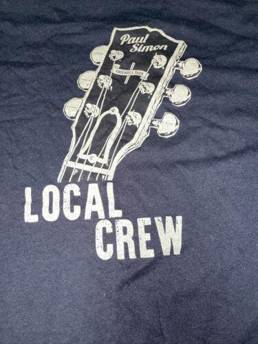 Vintage T Shirt - Paul Simon Farewell Tour Local C