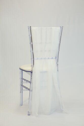 "24/"" x 72/"" Chiavari Chair Chiffon Sash"
