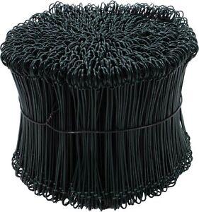 1000-Drahtsackverschluss-1-4x80-mm-Bindedraht-Drilldraht-Roedeldraht-Draht-GRUN