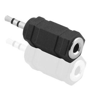 Adapter-3-5mm-Klinke-Kupplung-Buchse-weiblich-2-5mm-Kopfhoerer-Stecker-maennlich