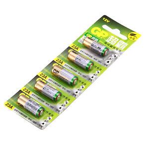 5-x-Batterie-GP-23AE-A23-23A-12V-Alkaline-12V-E23A-V23A-V23PX-L1028-MN21-G23A