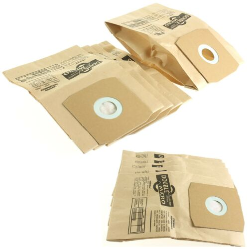 10 x Cylinder Vacuum Hoover Dust Bags For Daewoo RC320FP RC350 RC370 RC3704