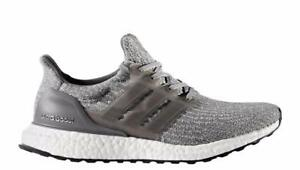 b8c2da60e2e48 Image is loading Adidas-ULTRABOOST-W-Grey-Grey-White-Running-Sneakers-