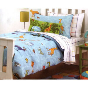 Hiccups-Wild-Things-Animals-Bedding-Range-Single-Quilt-Cover-Sheet-Set