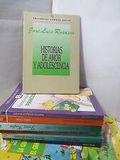 HISTORIAS DE AMOR Y ADOLESCENCIA Spanish Literature Libros en Espanol