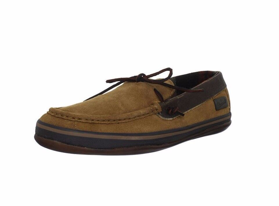 Woolrich Mens Weston Moc WS1153-202 Chocolate Brown Suede Moc / Loafer Size 8 M