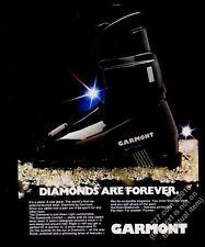 1980 Garmont Diamond ski boots photo vintage print ad