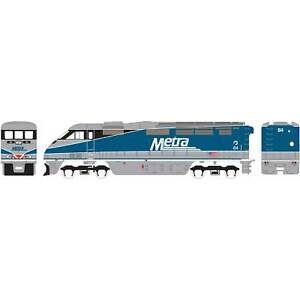 Athearn-HO-Ready-to-Run-F59PHI-METX-84