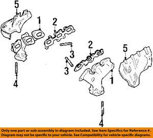 image is loading infiniti-nissan-oem-96-01-i30-exhaust-manifold-