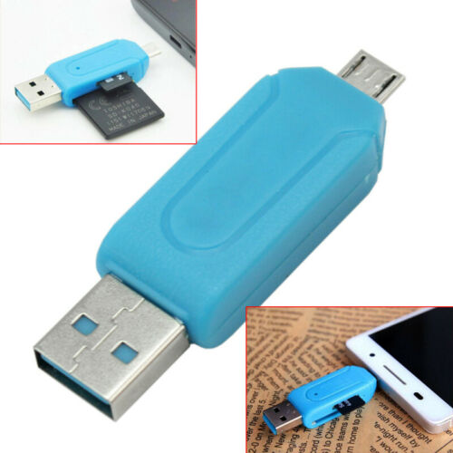 Micro USB OTG to USB 2.0 Adapter SD//Micro Card Reader For Smartphones//Tablets PC