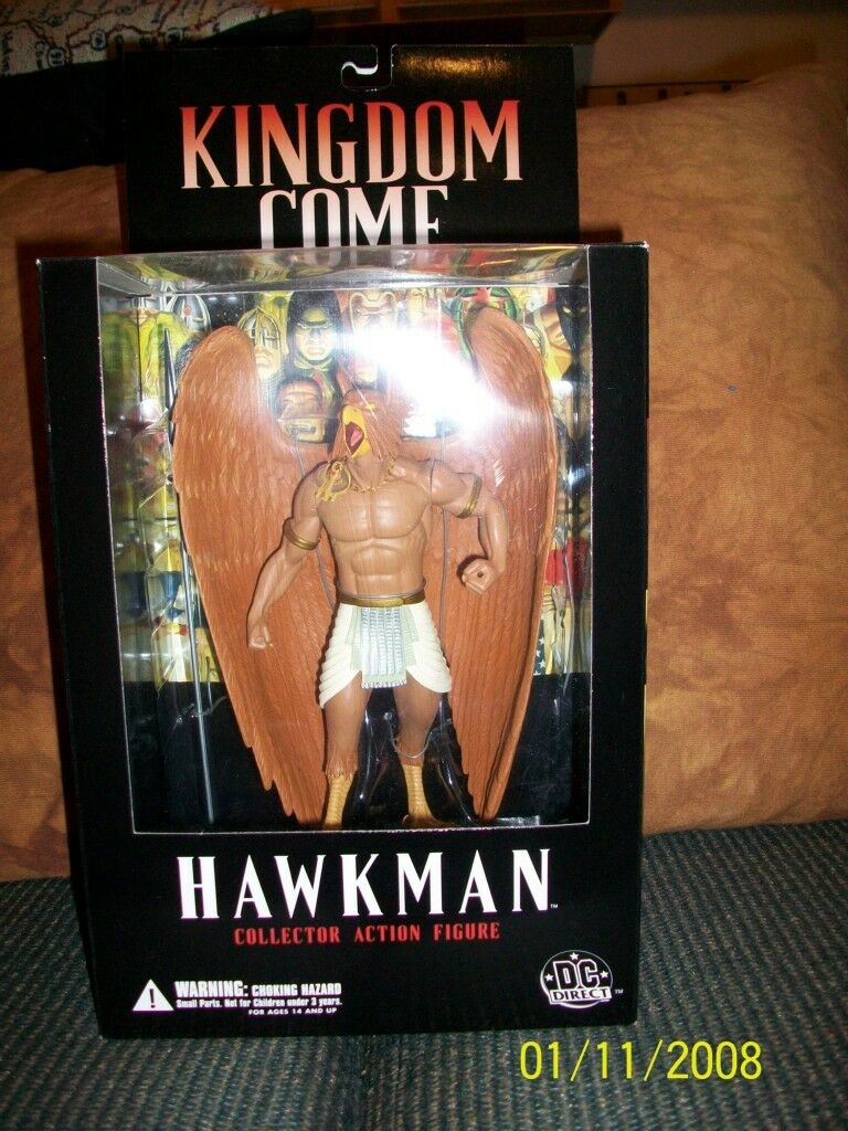 DC Direct Kingdom Come Series 1-Hawkman, Green Lantern, Wonder Woman, Superman
