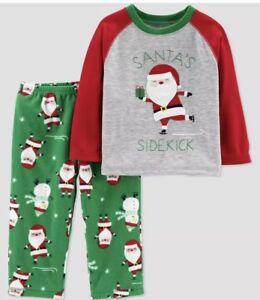 NWT BABY BOY CHRISTMAS ELF OF THE SHELF 2pc PAJAMA SET SIZE 12 MONTHS