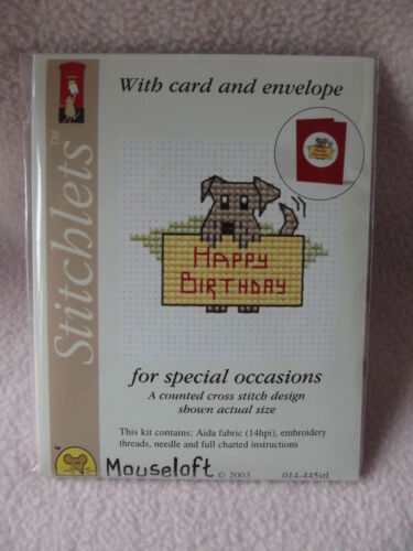 Mouseloft Special Occasions Stitchlet With Card /&  Envelope