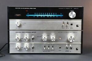 LUXMAN 707 ampifier e 717 sintonizzatore da HIFI VINTAGE