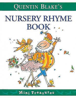 """""""AS NEW"""" Blake, Quentin, Quentin Blake's Nursery Rhyme Book (Mini Treasure), Pap"""