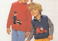 Vintage postman pat knitting pattern 99p ebay item 6 knitting pattern vintage postman pat sweater tanks top pattern knitting pattern vintage postman pat sweater tanks top pattern dt1010fo