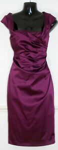 COAST-Purple-Vintage-Inspired-Ruched-Cocktail-Party-Prom-Dress-Uk-10
