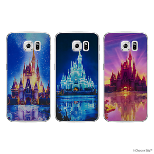 Disney-Castle-Case-Cover-for-Samsung-Galaxy-S6-Screen-Protector-Soft-Gel-TPU