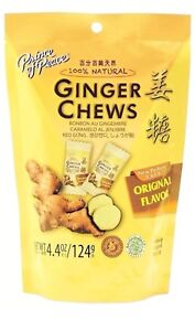 Prince-Of-Peace-100-Natural-Ginger-Candy-Chews-4-4-oz-BAG-STOMACH-ACHE-RELIEF