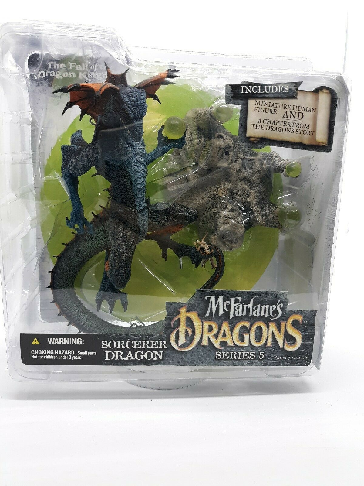 McFarlanes Dragons Sorcerer Dragon Series 5  The Ftutti of the Dragon rossoom A25  sconto online