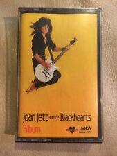 Sealed Album by Joan Jett & the Blackhearts (Orig Cassette 1983, MCA ) New!