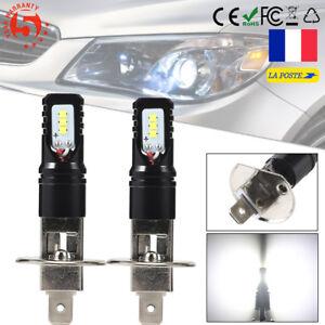2-Ampoules-H1-160W-6500k-Blanc-Pur-feux-jour-diurne-Brouillard-LED-CSP-Lens