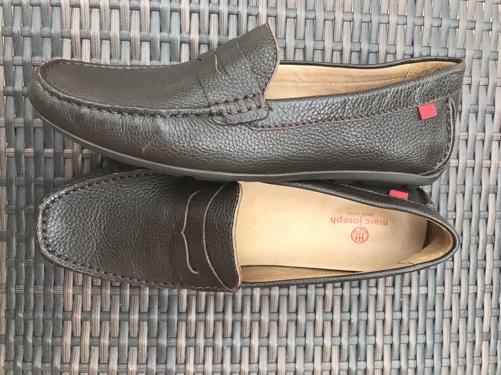 risparmia fino al 30-50% di sconto MARC JOSEPH Man's New York Full Grainy Leather Leather Leather Loafers Slip-On scarpe,Dimensione 11,5  prezzi bassi di tutti i giorni