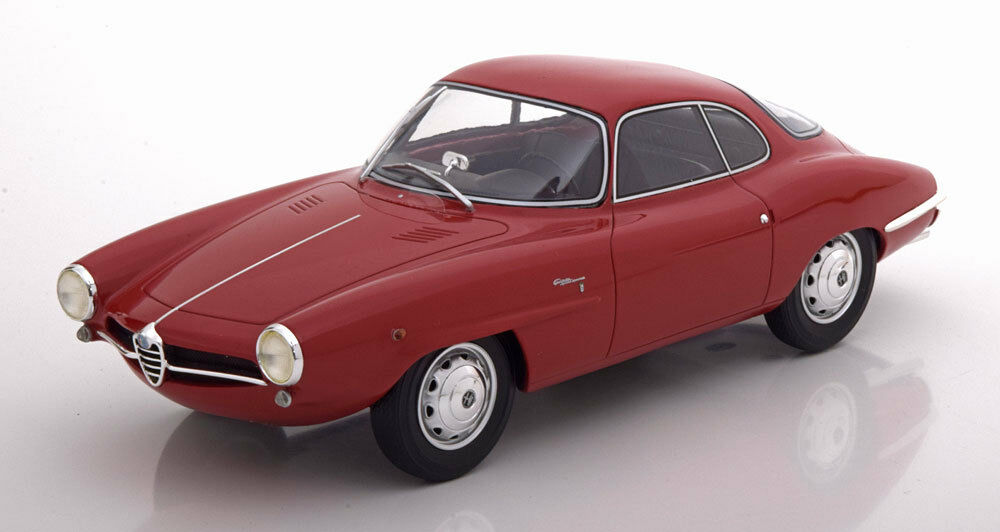1961 ALFA ROMEO Giulietta SS rosso by BoS Models LE of 504 1 18 Scale. New