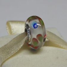 New Authentic Pandora 791614 Charm Folklore Murano Box Included