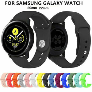 20-22mm-Silicone-Band-Strap-for-Samsung-Galaxy-Watch-Gear-S3-Huawei-Watch-GT-New