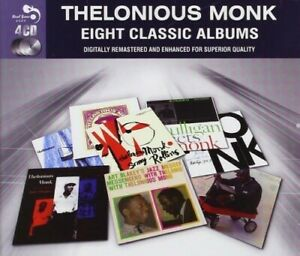 THELONIOUS-MONK-8-CLASSIC-ALBUMS-4-CD-NEW