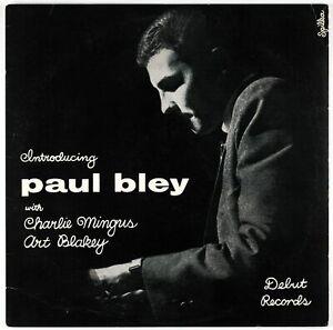 PAUL-BLEY-CHARLES-MINGUS-ART-BLAKEY-Introducing-Paul-Bley-LP