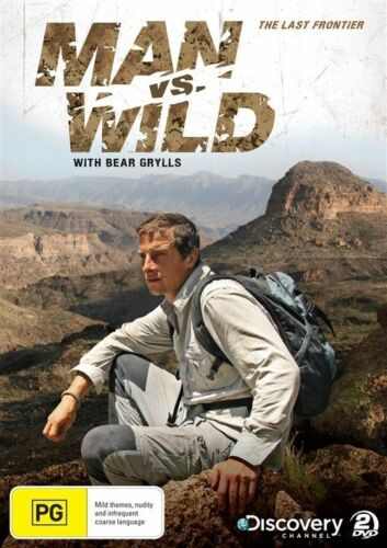 1 of 1 - Man Vs Wild - The Last Frontier (DVD, 2-Disc Set) New/Sealed!