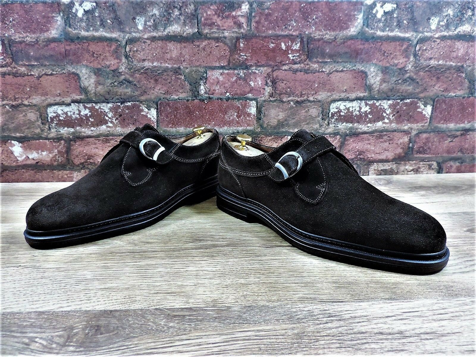 Cable & Co braun Suede UK 10.5 US 11.5 EU 44.5 Worn Once only Goodyear Welted