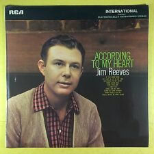 Jim Reeves - According To My Heart - RCA INTS-1013 Ex+ Condition Vinyl LP