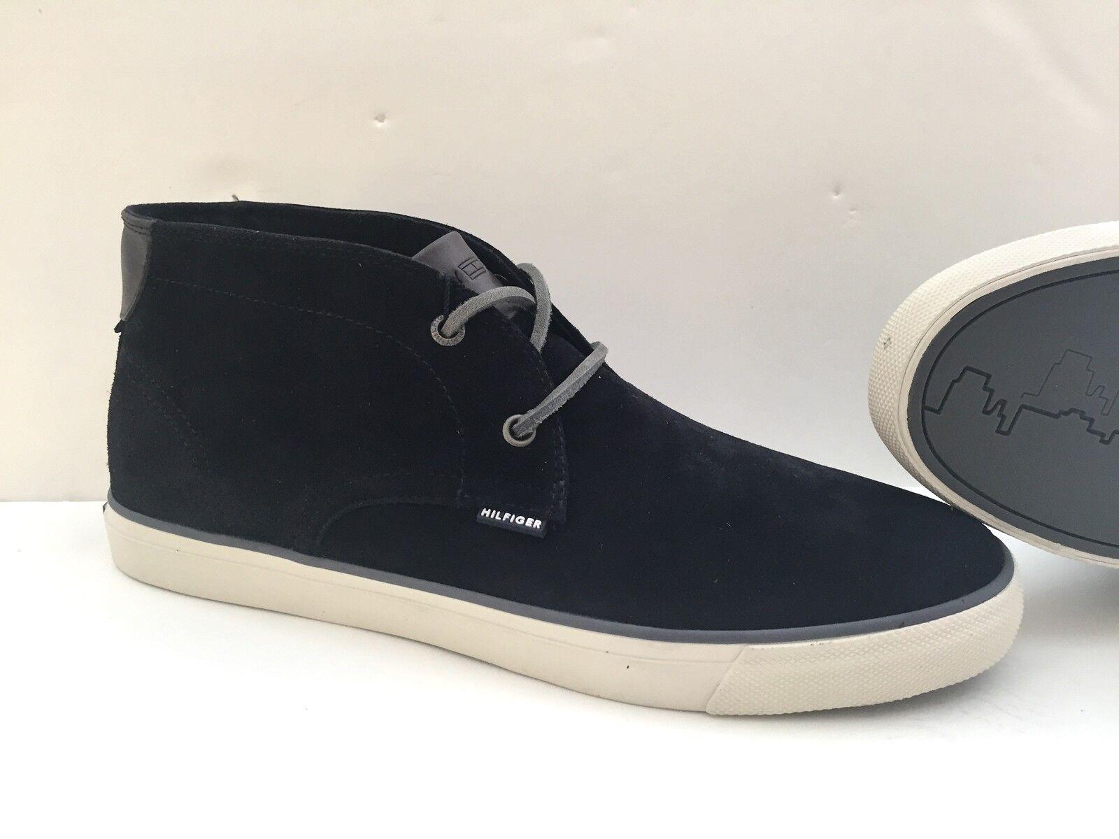 Schuhe Schuhe Schuhe Desert Stiefel Tommy Hilfiger 42 blau man man Gämse Veloursleder New York 165205
