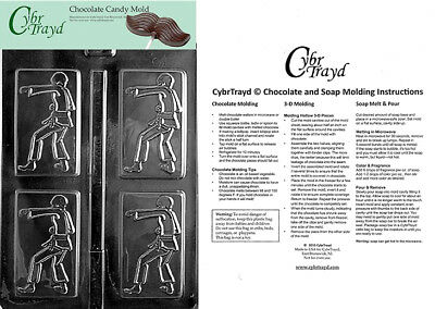 Starfish Lolly Chocolate Candy Mold In Sealed Poly Bag w//Instructions