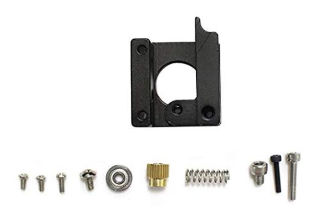 Mk8 Extruder 1.75MM Filament Reprap Makerbot Black Left