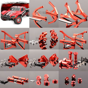 Details about ALUMINUM UPGRADE PARTS RED FOR RC TRAXXAS 1/16 SLASH 4X4  70054-1