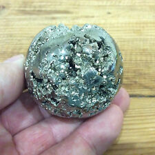 Pyrite Sphere Crystal - 5cm polished