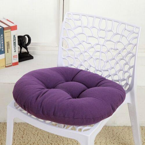 1PC Chair Seat Cushion Round Pad Futon Tatami Pillow Home Sofa Back Cushion New