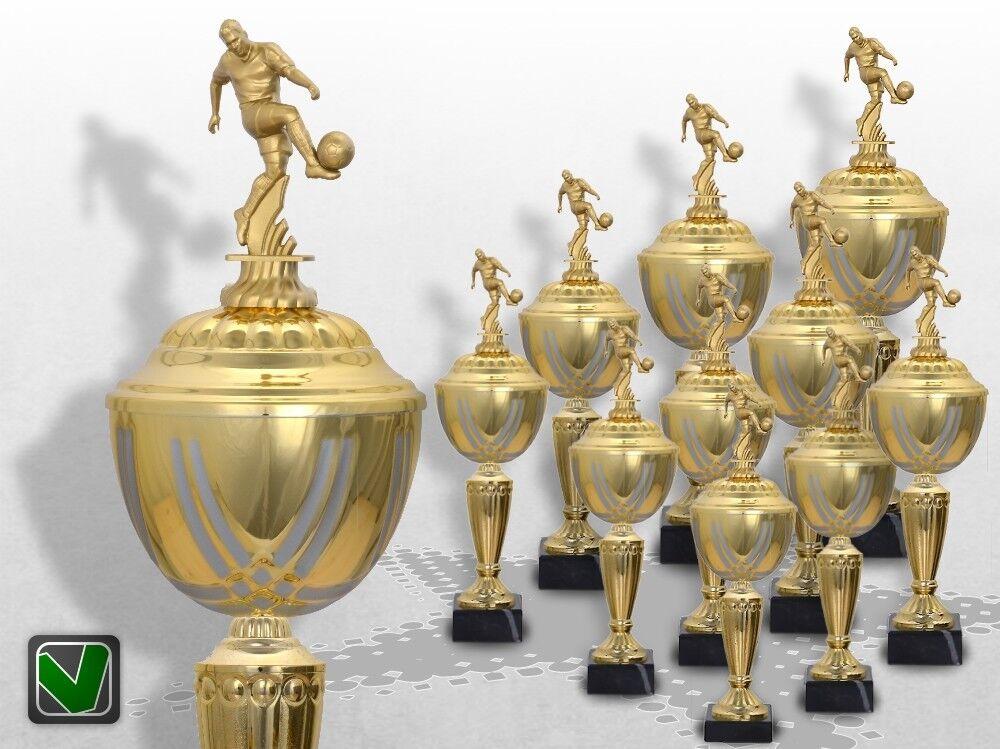10er Fussball Pokale mit Gravur günstig kaufen kaufen kaufen Golden Prestige 803bb5