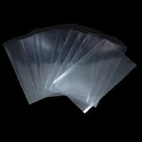 200 5x7 Clear Poly Bags 1.5Mil Flat Open Top Plastic Packaging Packing LDPE