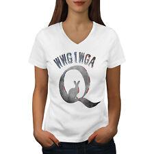 Conspiracy Woke Athletic Sports Shirt Wellcoda Qanon Rabbit Womens Tank Top