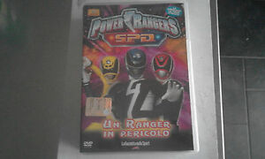 DVD-POWER-RANGERS-S-P-D-VOL-10-UN-RANGER-IN-PERICOLO-LA-GAZZETTA-DELLO-SPORT